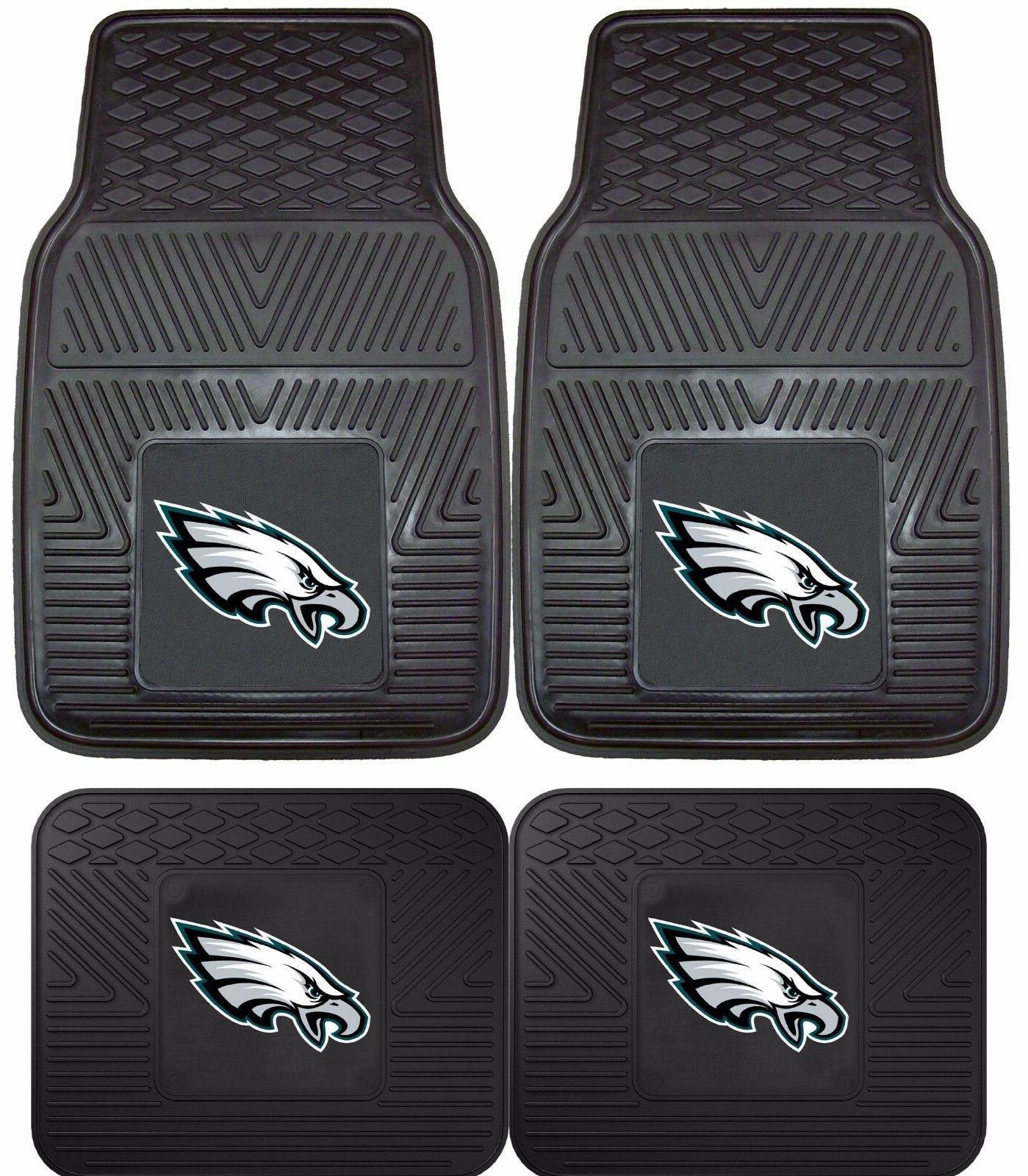 philadelphia eagles heavy duty floor mats 2