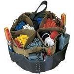 Custom Leathercraft 1148 22 Pocket Poly Bucket Bag