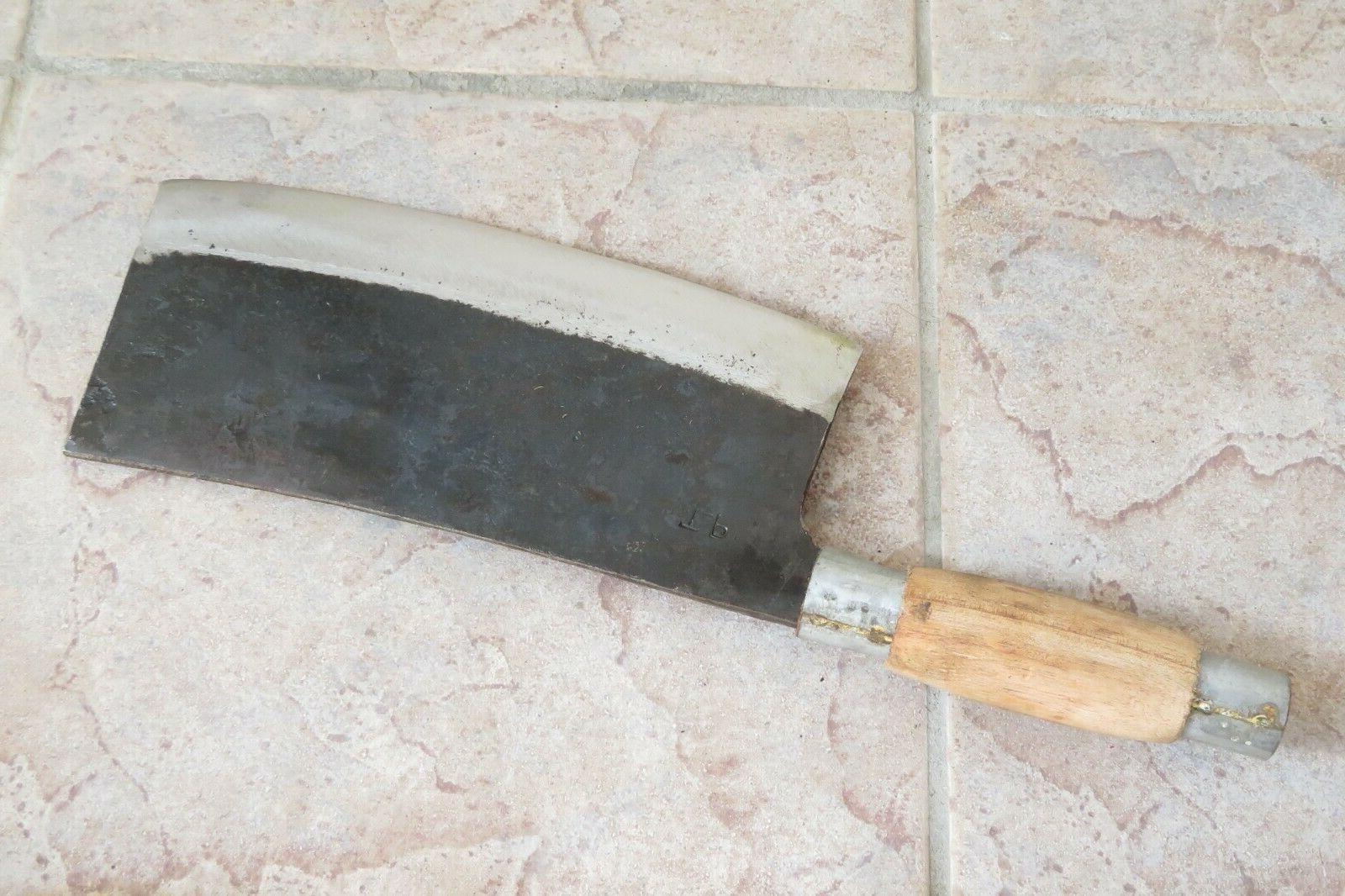 Crude Heavy Duty Cleaver Knife, Carbon Steel