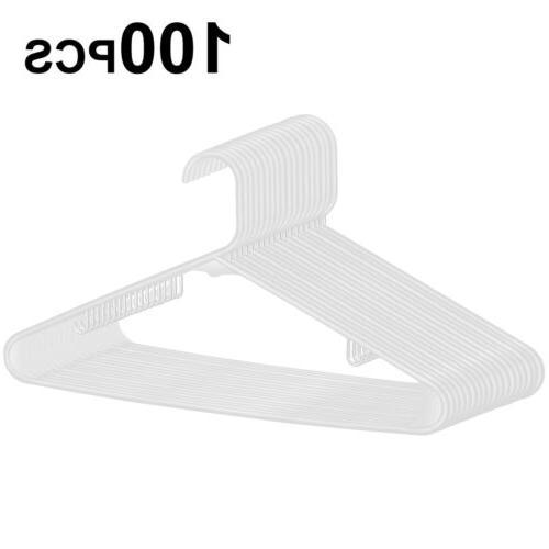 premium plastic hangers pack of 100 heavy