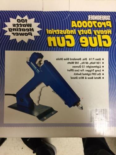 pro7000a heavy duty industrial glue gun