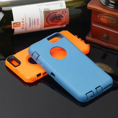 For iPhone 7 6 Hybrid Full Shockproof Duty Waterproof