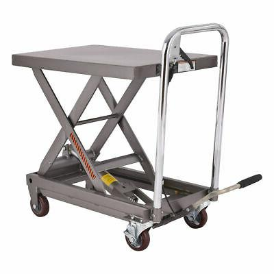 rolling table cart hydraulic