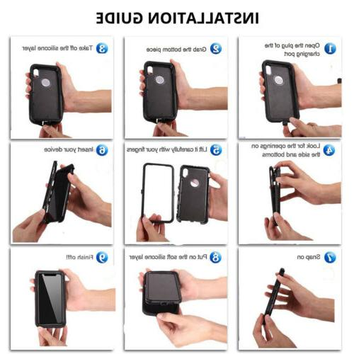 For Samsung Shockproof Stand Phone Case
