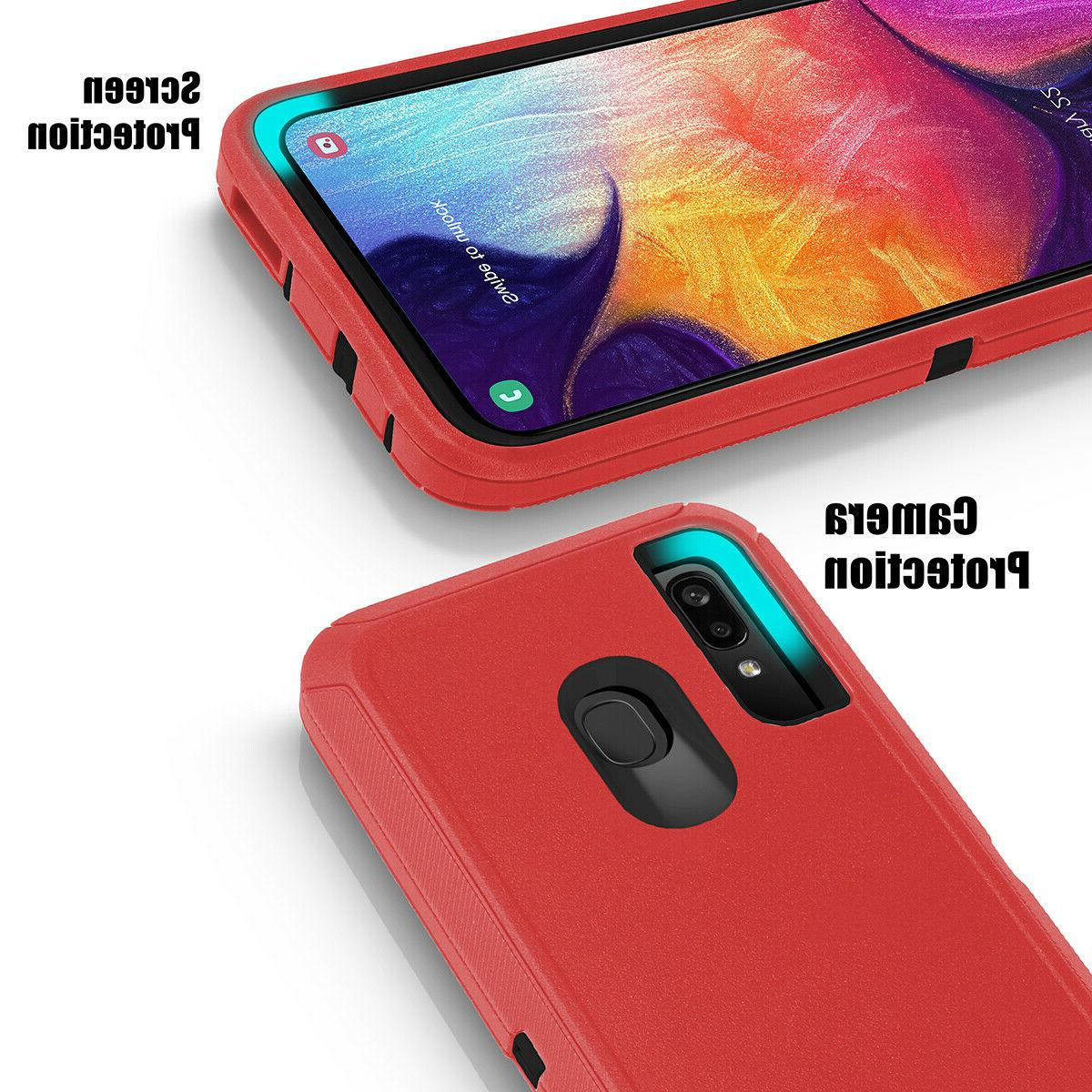 Samsung Galaxy A20 S20+ Ultra Duty Hybrid Shockproof Case Cover