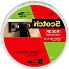 3M Scotch 0.75 In x 9.72 Yds Permanent Double Sided Indoor M