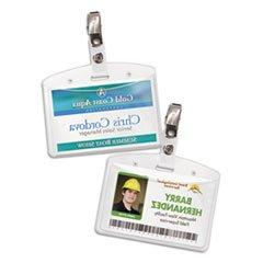 Avery Secure Top Badge Holders, Horizontal, 2 1/4W X 3 1/2H,