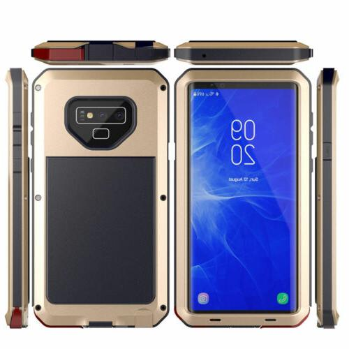 Shockproof Aluminum Heavy Case Cover 10 8 9