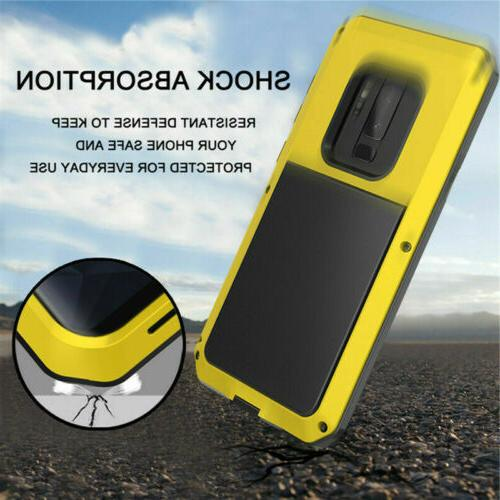 Shockproof Aluminum Heavy Case Samsung Note 10 S9 8 Note 9