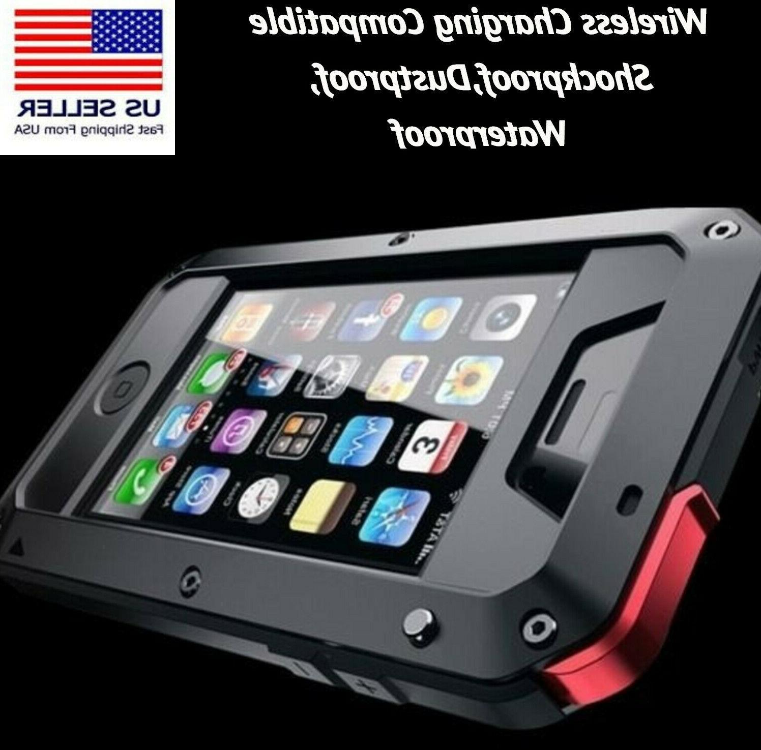 shockproof heavy duty metal armor case cover