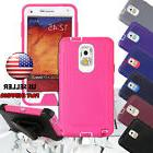 Shockproof Heavy Duty Rubber Protective Phone Case Cover For