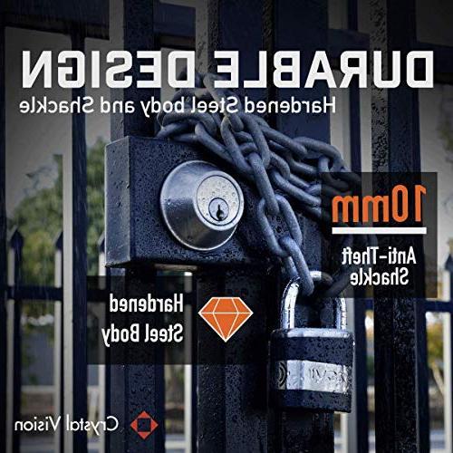 Crystal Weather Proof 130db Duty for Purpose. Arm & Disarm, Lock, Lock, Gun Truck Lock, Tool Box