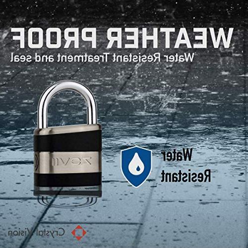 Crystal Vision Proof Anti Theft Loud 130db 10mm Duty Multi Purpose. Auto Disarm, Lock, Lock, Lock, Tool Box