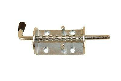 spring loaded barrel bolt latch for shed