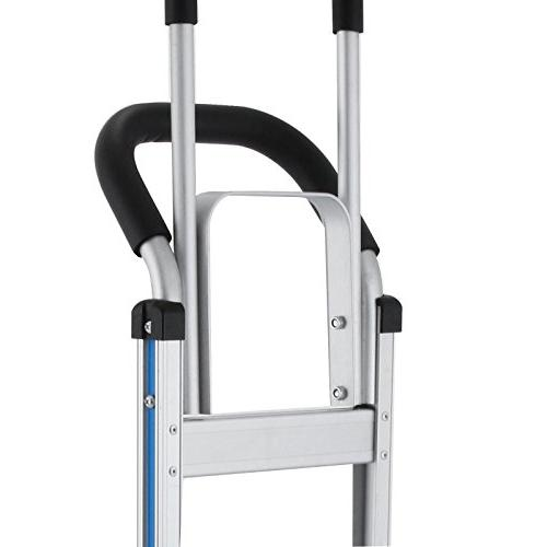 BLTPress 550LBS Climber Truck Assisted Utility with Flat Pest Repeller Silver