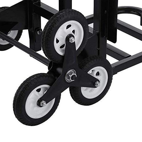 VEVOR Portable lb All Stair Climbing Truck Folding Truck Heavy Wheels