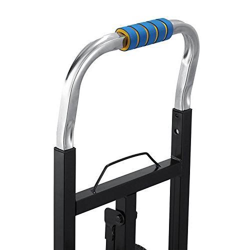 VEVOR Stair Cart Portable Cart lb All Stair Climbing Folding Heavy Duty Wheels