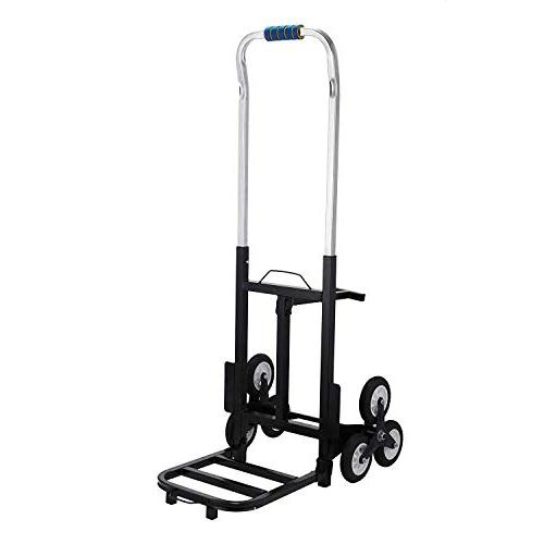 VEVOR Portable Climbing lb Capacity All Stair Folding Stair Truck Heavy Duty Wheels
