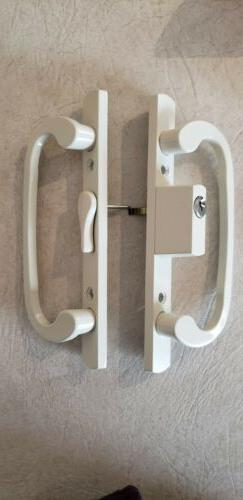 STB Sliding Glass Patio Door Handle Kit with Mortise Lock Ke