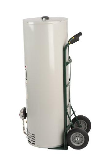 """Capacity Dual Handle Heavy-Duty Truck with 10"""" Flat-Free Solid Wheels"""