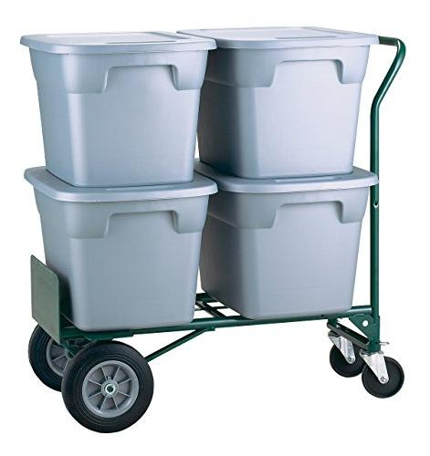 Harper lb Capacity Convertible Truck, Dual Purpose 2 Wheel Wheel Cart Flat-Free Solid