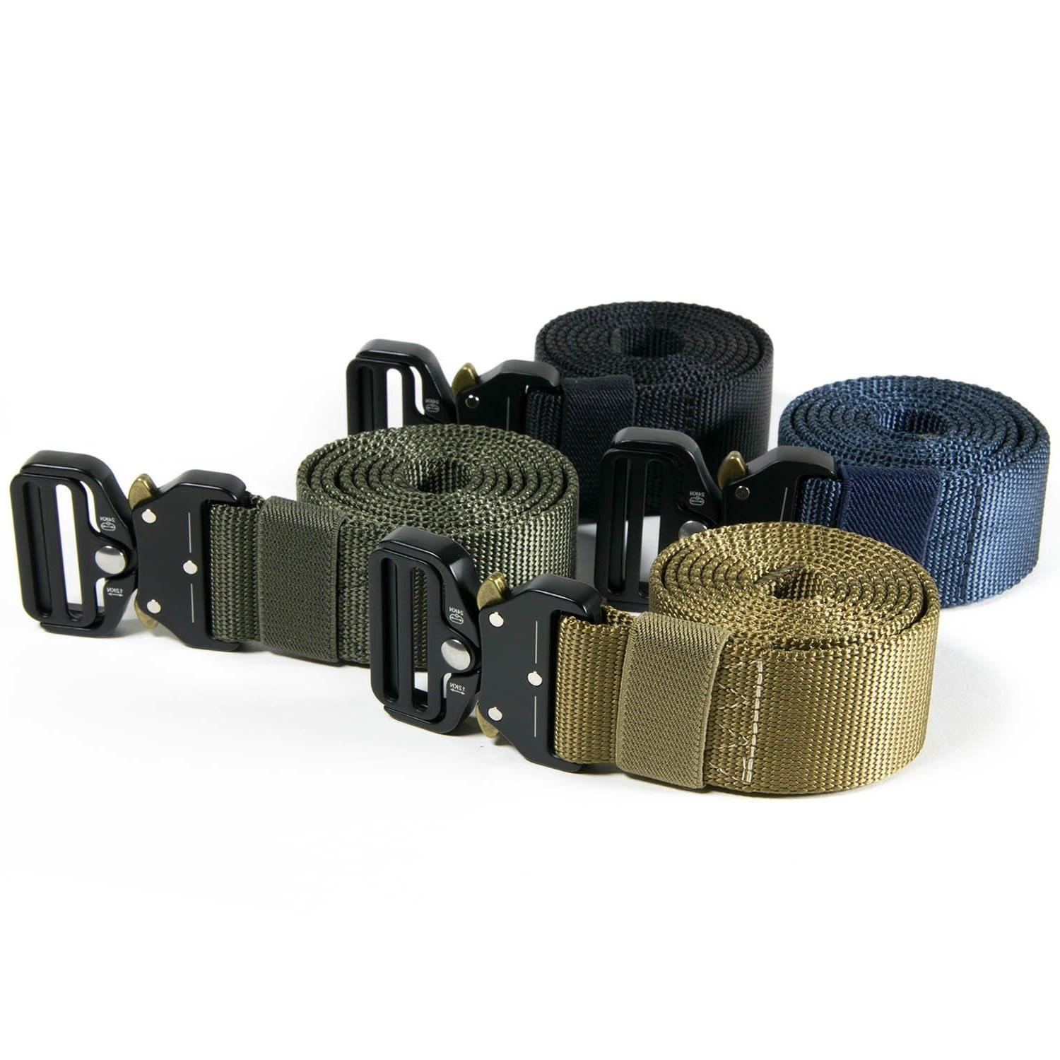 CoreLife Tactical Belt Heavy Nylon Buckle Military Belt