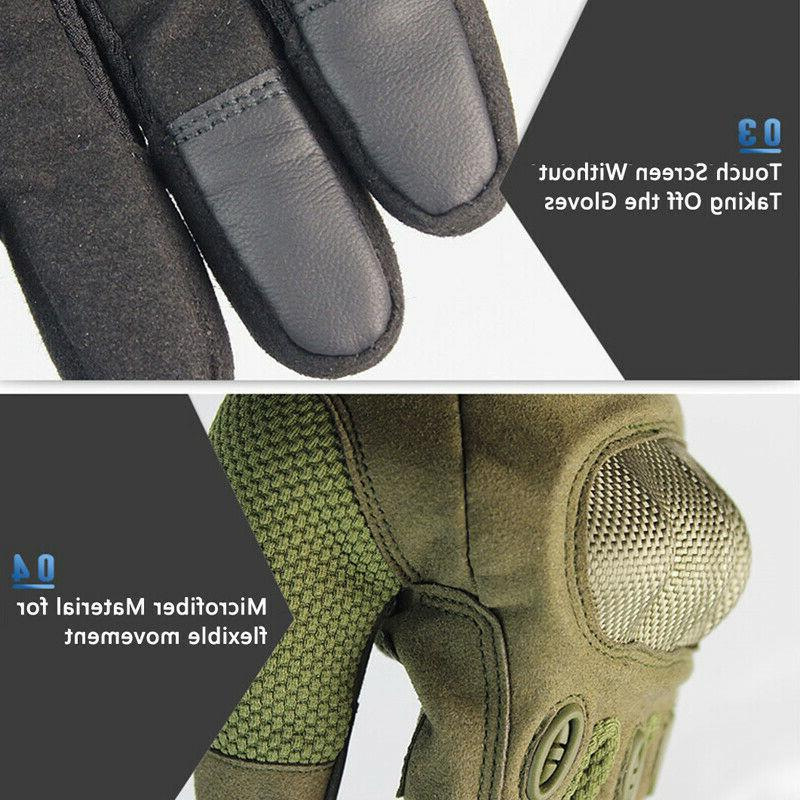 Tactical Heavy Duty Gloves Performance Security CS Safety Work Impact Protection