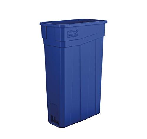tcn2030bl narrow trash can without