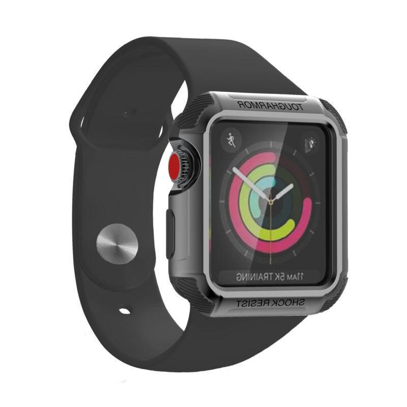 Tough Armor Case Cover For Apple Watch 2 1
