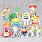Toy Story Woody Buzz Lightyear Rex Alien Bear 10 PCS Action