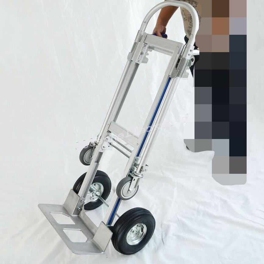 【USA】Hand Dolly 2-In-1 Convertible 2 to Aluminum