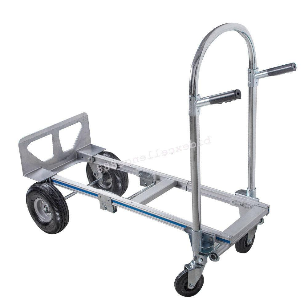 【USA】Hand Dolly Convertible 2 to 4 Aluminum