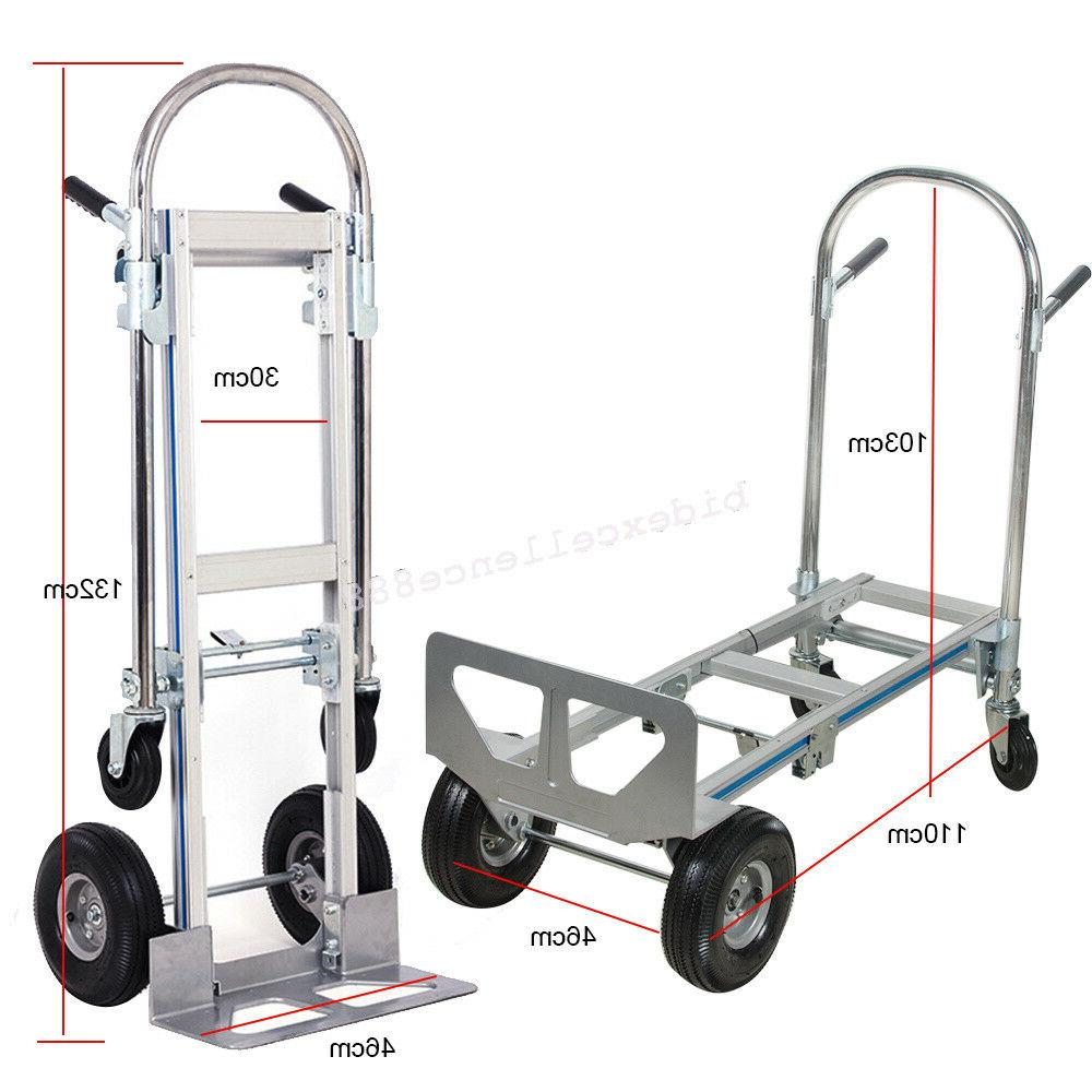 usahand truck dolly 2 in 1 convertible
