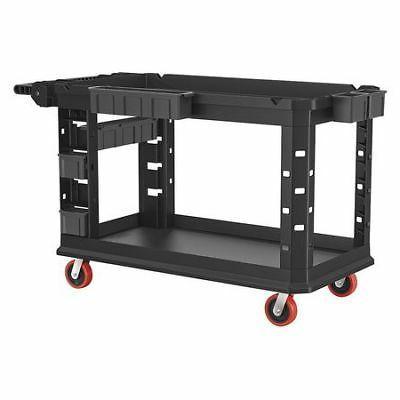 SUNCAST COMMERCIAL PUCHD2654 Plastic Heavy Duty Utility Cart
