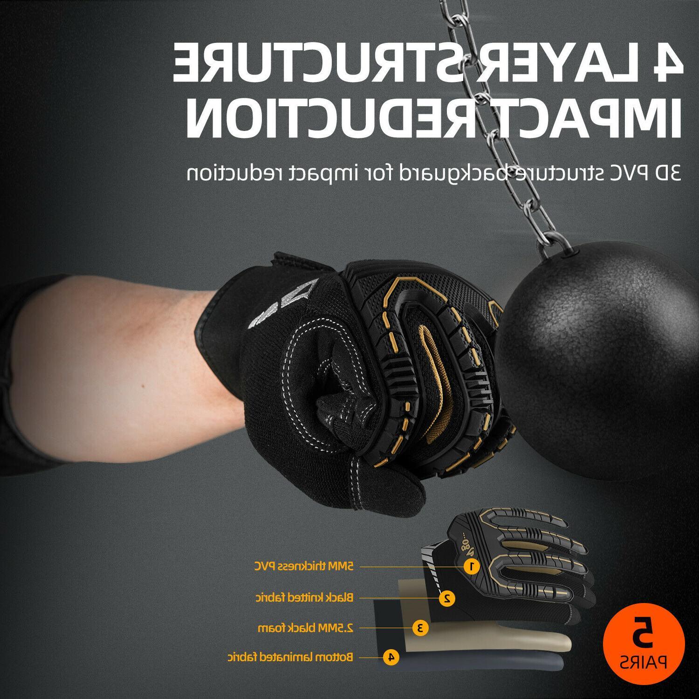 Vgo Impact-Absorb Gloves Men