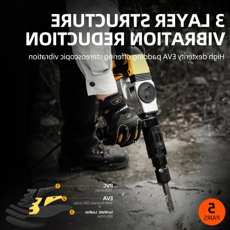 Vgo Impact-Absorb Gloves For Men