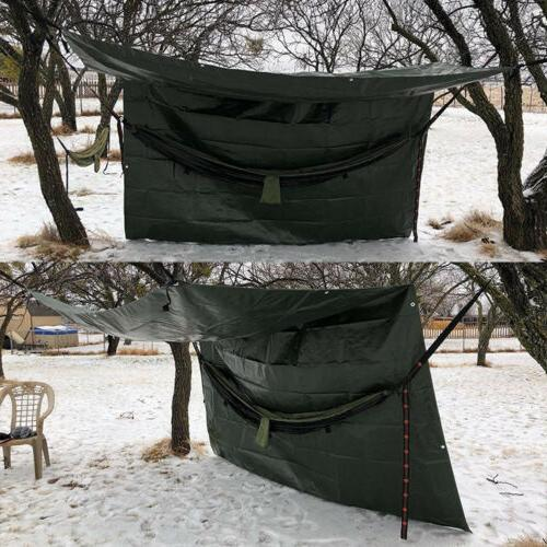 Waterproof Poly Tarp Heavy Duty Tarpaulin Tent Outdoor