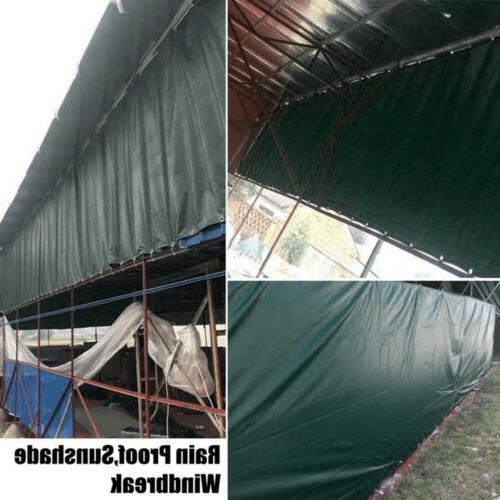 Waterproof Heavy Duty Tarpaulin Boat Tent Outdoor Canopy Cover