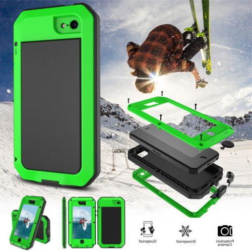 Waterproof Shockproof Heavy Duty Metal Aluminum Gorilla Case