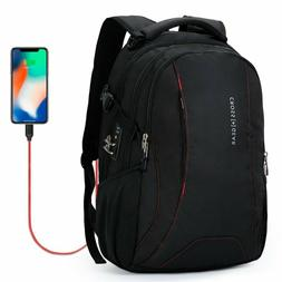 Laptop Backpack With Usb Charging Port Heavy Duty For Men Tr