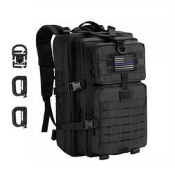 Large Tactical Army Backpack Hiking Survival Water-Proof Hea