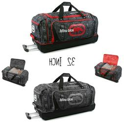 Large Travel Rolling Luggage Suitcase Duffle Bag with Wheels