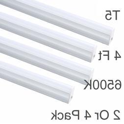 LED SHOP LIGHT 6500K Linkable Garage Fixture 4FT Utility Cei