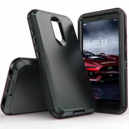 For LG Stylo 5 / 5 Plus Shockproof Rugged Hybrid Bumper Heav