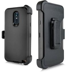 For LG STYLO 4/STYLUS 4 Holster Heavy Duty Rugged Kickstand