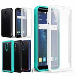 For LG Stylo 5/5 Plus Heavy Duty Clear Back Case with Built-