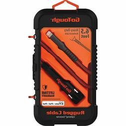 GoTough Lightning Sync and Charge Set - 6.5ft.L, Model# GT40