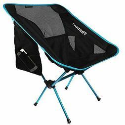 FBSPORT Lightweight Folding Camping Backpack Chair, Compact