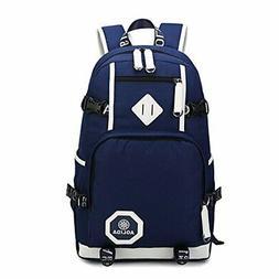 Linbag Popular Heavy Duty Teens High School Backpack Bookbag