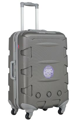 """Ambassador Luggage ABS 20"""" Heavy Duty Carry On Frame Spinner"""